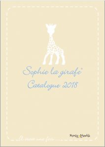 Catalogue-Sophie-la-girafe-2018